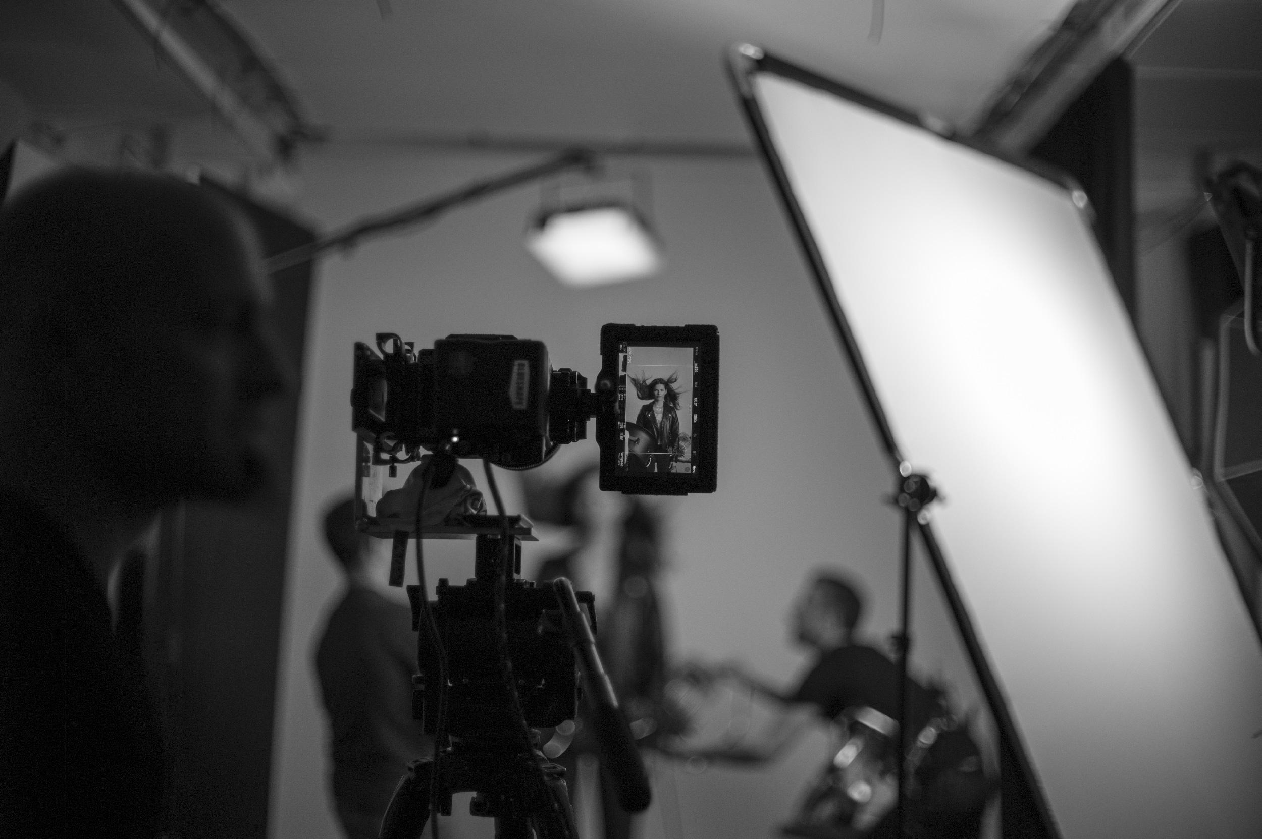 Mini Cabrio studio shoot