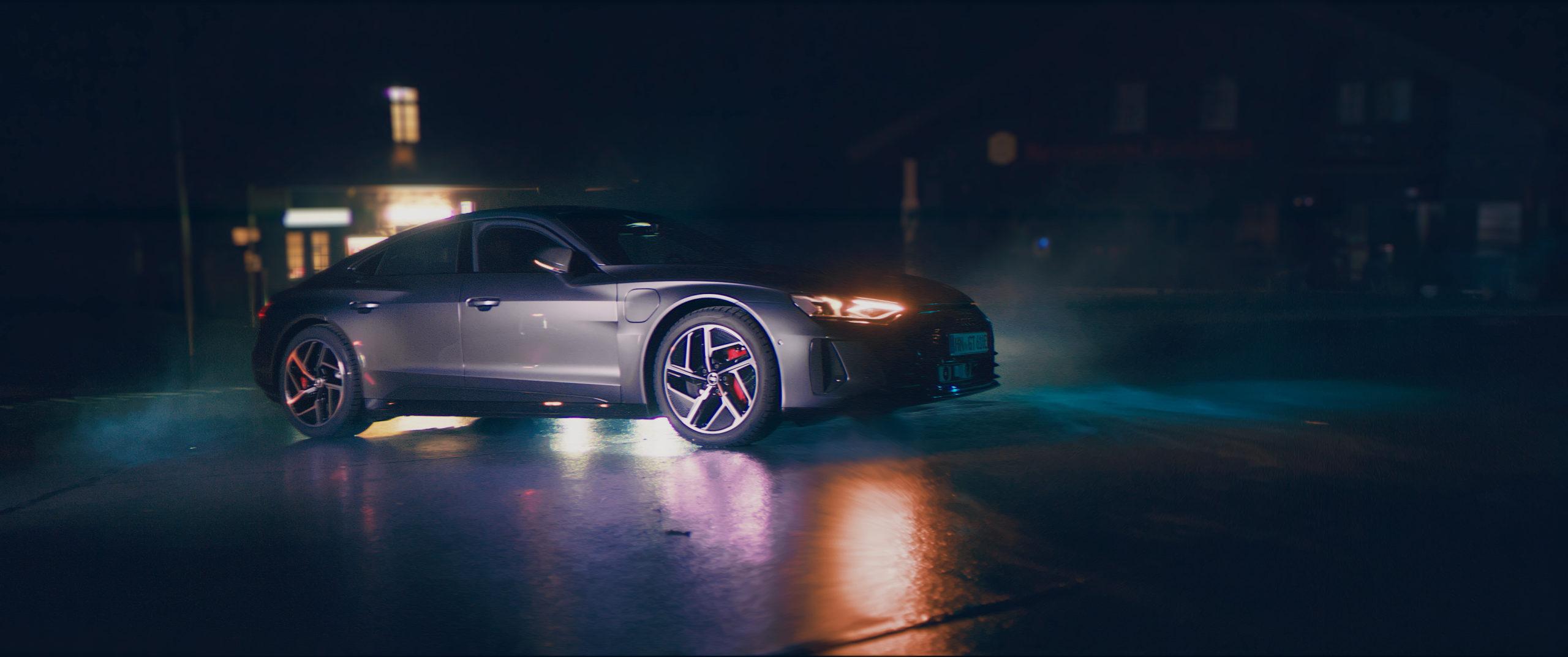AUDI GT RS, E-Tron - \
